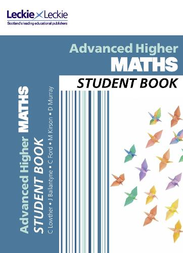CfE Advanced Higher Maths Student Book - Student Book (Paperback)