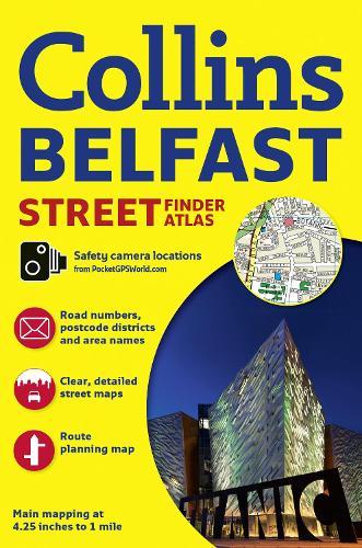 Collins Belfast Streetfinder Colour Atlas (Paperback)