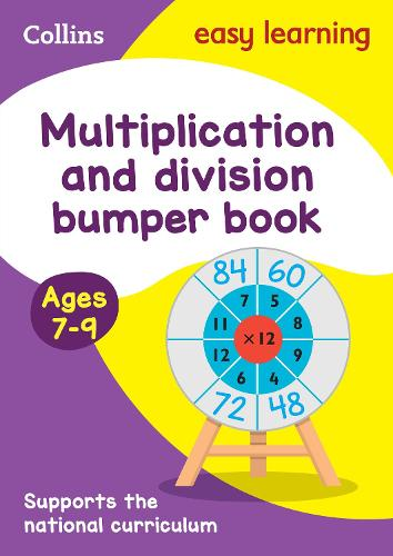 Multiplication & Division Bumper Book Ages 7-9 - Collins Easy Learning KS2 (Paperback)