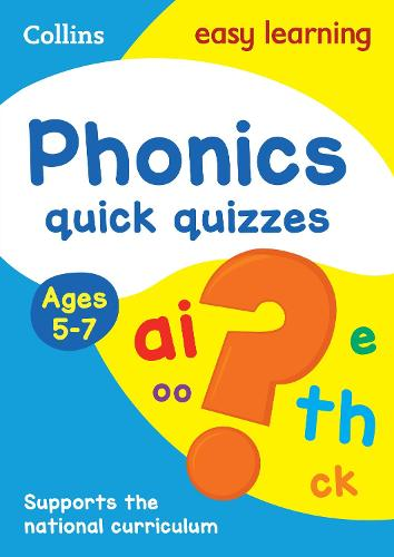 Phonics Quick Quizzes Ages 5-7 - Collins Easy Learning KS1 (Paperback)