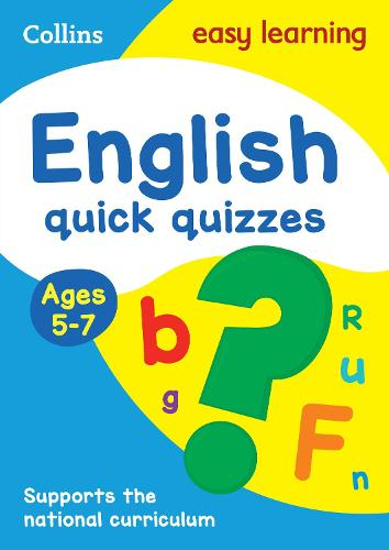 English Quick Quizzes Ages 5-7 - Collins Easy Learning KS1 (Paperback)