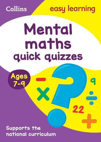 Mental Maths Quick Quizzes Ages 7-9 - Collins Easy Learning KS2 (Paperback)