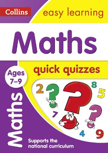 Maths Quick Quizzes Ages 7-9 - Collins Easy Learning KS2 (Paperback)