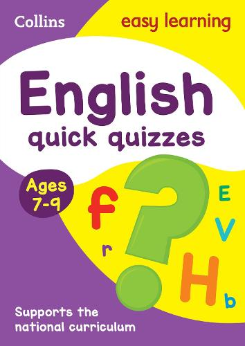English Quick Quizzes Ages 7-9 - Collins Easy Learning KS2 (Paperback)