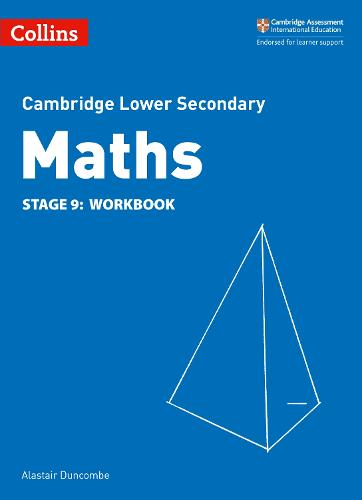 Lower Secondary Maths Workbook: Stage 9 - Collins Cambridge Lower Secondary Maths (Paperback)