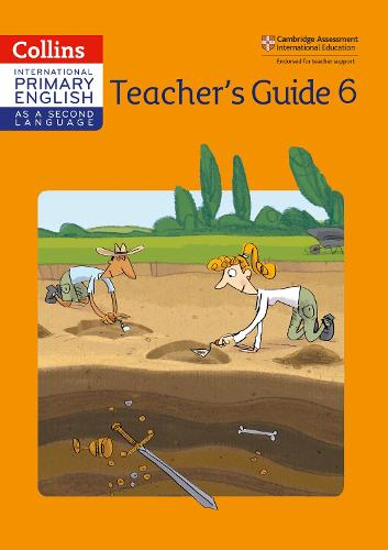 Cambridge Primary English as a Second Language Teacher Guide 6 - Collins International Primary English as a Second Language (Paperback)
