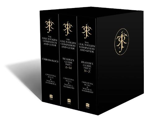 The J. R. R. Tolkien Companion and Guide: Boxed Set