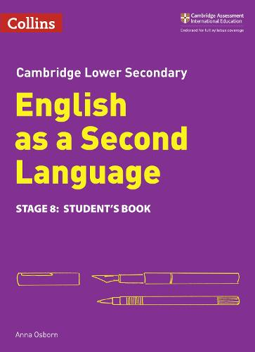 Lower Secondary English as a Second Language Student's Book: Stage 8 - Collins Cambridge Lower Secondary English as a Second Language (Paperback)