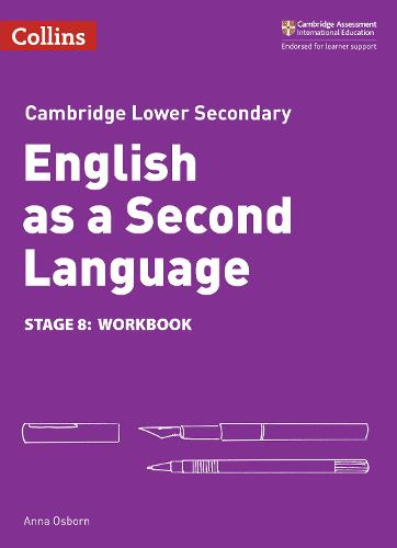 Lower Secondary English as a Second Language Workbook: Stage 8 - Collins Cambridge Lower Secondary English as a Second Language (Paperback)