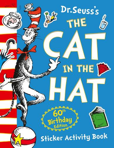 The Cat in the Hat Sticker Activity Book - Dr. Seuss (Paperback)
