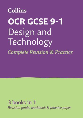 OCR GCSE 9-1 Design & Technology All-in-One Revision and Practice - Collins GCSE 9-1 Revision (Paperback)