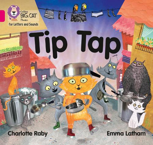 Tip Tap: Band 1a/Pink a - Collins Big Cat Phonics for Letters and Sounds (Paperback)
