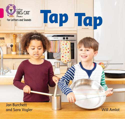 Tap Tap: Band 1a/Pink a - Collins Big Cat Phonics for Letters and Sounds (Paperback)