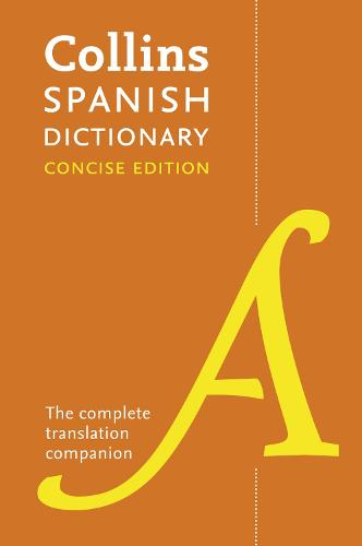 Spanish Concise Dictionary: The Complete Translation Companion (Paperback)