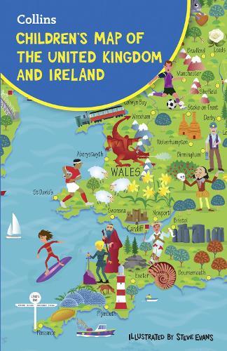 Children's Folded Map of the United Kingdom (Sheet map, folded)