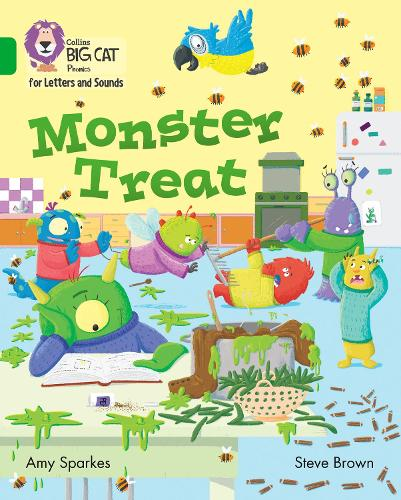 Monster Treat: Band 05/Green - Collins Big Cat Phonics for Letters and Sounds (Paperback)