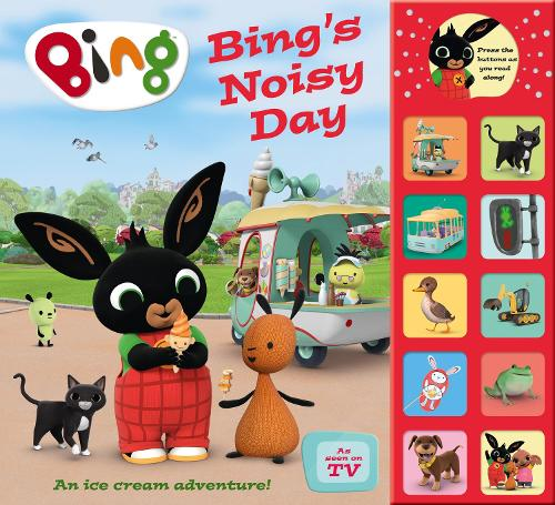 Bing's Noisy Day - Bing (Hardback)