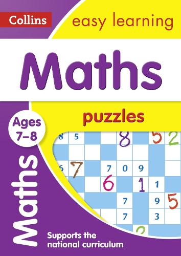 Maths Puzzles Ages 7-8 - Collins Easy Learning KS2 (Paperback)
