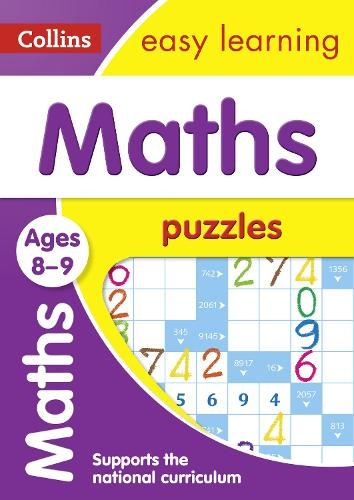 Maths Puzzles Ages 8-9 - Collins Easy Learning KS2 (Paperback)