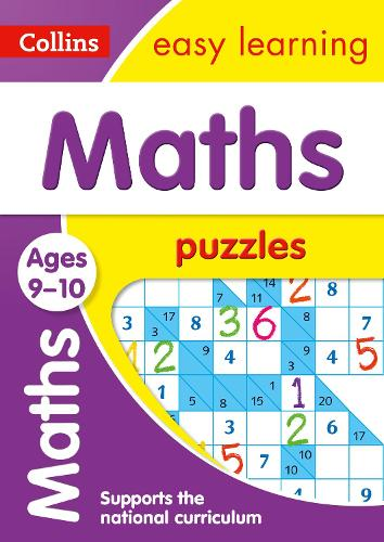 Maths Puzzles Ages 9-10 - Collins Easy Learning KS2 (Paperback)