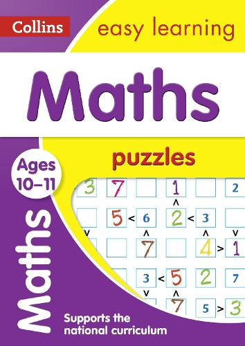 Maths Puzzles Ages 10-11 - Collins Easy Learning KS2 (Paperback)