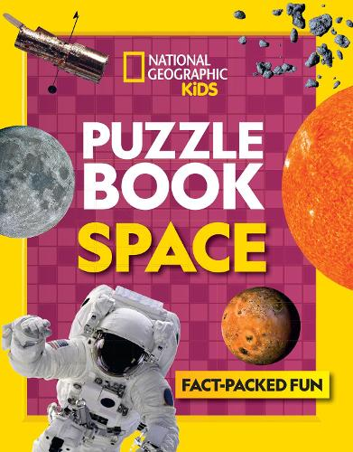Puzzle Book Space: Brain-Tickling Quizzes, Sudokus, Crosswords and  Wordsearches - National Geographic Kids Puzzle Books (Paperback)