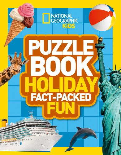 Puzzle Book Holiday: Brain-Tickling Quizzes, Sudokus, Crosswords and  Wordsearches - National Geographic Kids Puzzle Books (Paperback)