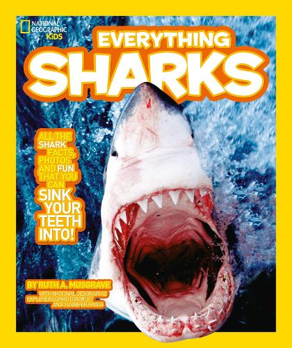 Everything: Sharks - National Geographic Kids (Paperback)