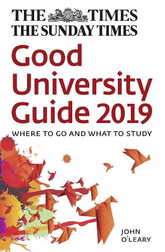 The Times Good University Guide 2019