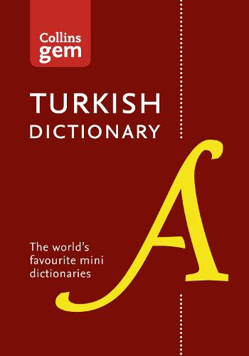 Collins Turkish Gem Dictionary: The World's Favourite Mini Dictionaries - Collins Gem (Paperback)