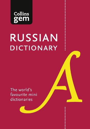 Russian Gem Dictionary: The World's Favourite Mini Dictionaries - Collins Gem (Paperback)