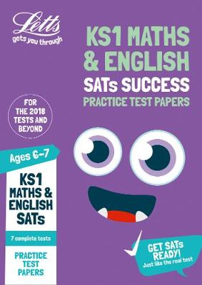 KS1 Maths and English SATs Practice Test Papers: 2019 Tests - Letts KS1 Revision Success (Paperback)