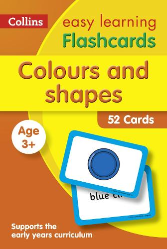 Colours and Shapes Flashcards - Collins Easy Learning Preschool