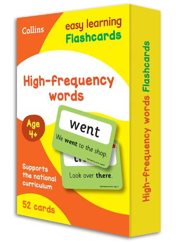 High Frequency Words Flashcards - Collins Easy Learning KS1