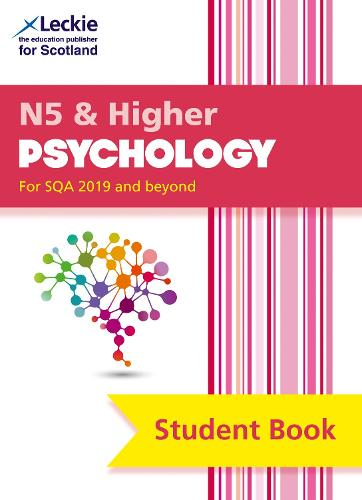 National 5 & Higher Psychology Student Book - Student Book for SQA Exams (Paperback)