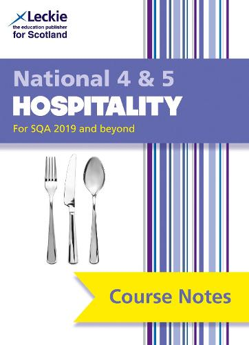 National 4/5 Hospitality Course Notes - Course Notes for SQA Exams (Paperback)
