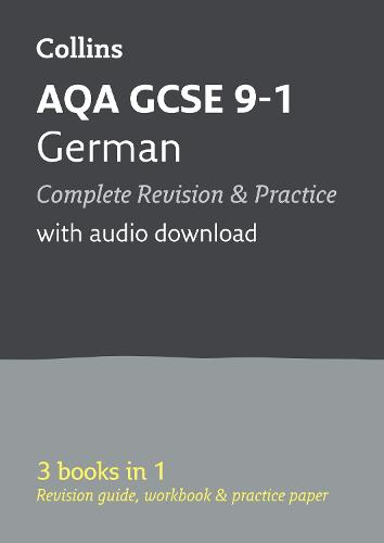 AQA GCSE 9-1 German All-in-One Revision and Practice - Collins GCSE 9-1 Revision (Paperback)