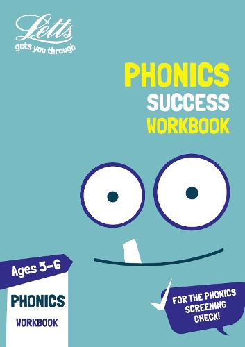 Phonics Ages 5-6 Practice Workbook - Letts KS1 Practice (Paperback)