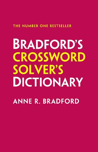 Collins Bradford's Crossword Solver's Dictionary (Hardback)