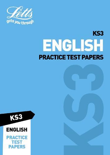 KS3 English Practice Test Papers - Letts KS3 Revision Success (Paperback)