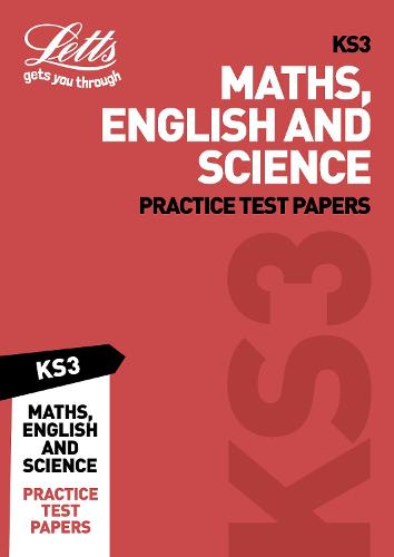 KS3 Maths, English and Science Practice Test Papers - Letts KS3 Revision Success (Paperback)