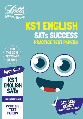 KS1 English SATs Practice Test Papers: For the 2021 Tests - Letts KS1 SATs Success (Paperback)