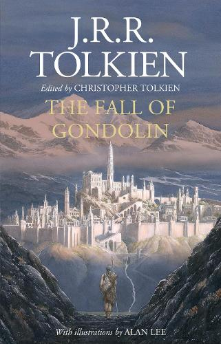 Cover of the book, The Fall of Gondolin.