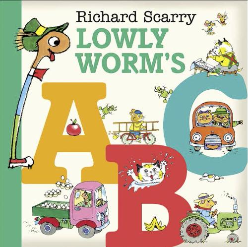 Lowly Worm's ABC (Board book)