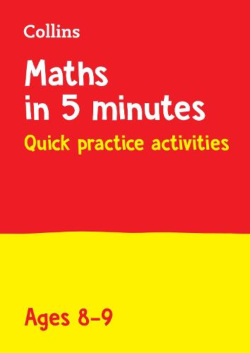 Year 4 Maths in 5 Minutes (Age 8-9): Ideal for Use at Home - Collins KS2 Practice (Paperback)