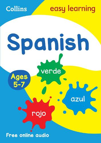 Spanish Ages 5-7: Ideal for Home Learning - Collins Easy Learning Primary Languages (Paperback)