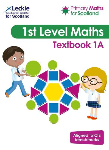 Primary Maths for Scotland Textbook 1A: For Curriculum for Excellence Primary Maths - Primary Maths for Scotland (Paperback)