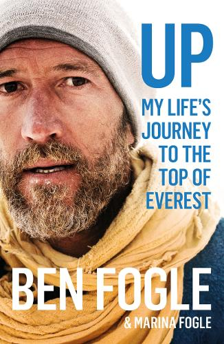 Cover of the book, Up: My Life's Journey to the Top of Everest.