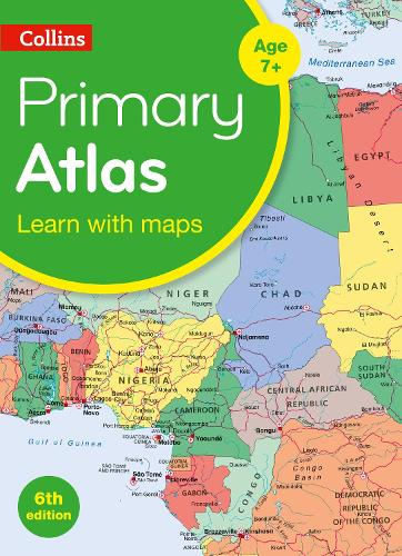 Collins Primary Atlas - Collins Primary Atlases (Paperback)