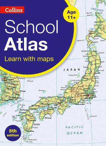 Collins School Atlas - Collins Primary Atlases (Paperback)